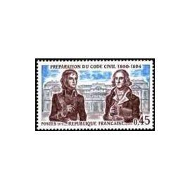 Timbre France Neuf-Préparation du code civil 1800-1804-1774