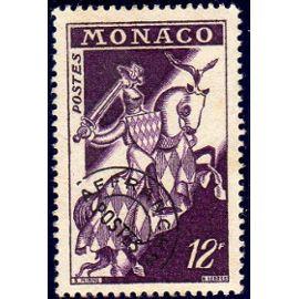 Timbre préoblitéré de Monaco (armoiries)