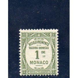 Timbre-taxe de Monaco