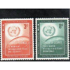 Timbres-poste des Nations Unies, Bureau de New-York (Conseil de sécurité)