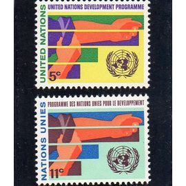 Timbres-poste des Nations Unies, Bureau de New-York (Programme de développement)