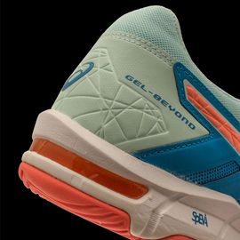Asics Femmes Gel Beyond 5 Chaussures De Sport En Salles Baskets Bleu Orange