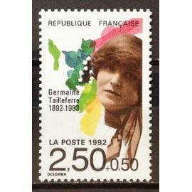 Musiciens Célèbres - Germaine Tailleferre 2,50+0,50 (Impeccable n° 2752) Neuf** Luxe (= Sans Trace de Charnière) - France Année 1992 - N19100