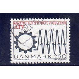 Timbre-poste du Danemark (Cinquantenaire de l