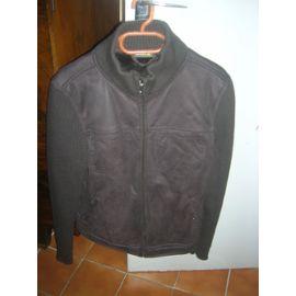 Blouson cuir noir OWK XXL