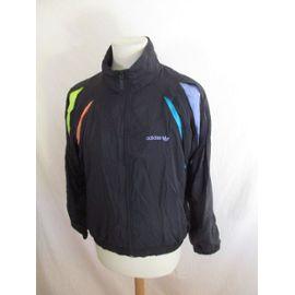 Veste de survêtement vintage des années 90 Adidas Taille S
