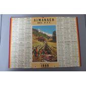 Calendrier 1960 Avec Les Jours.Ancien Calendrier Des Postes 1960