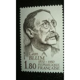 TIMBRE FRANCE (YT 2251 ) 1982 Léon Blum (1872-1950)