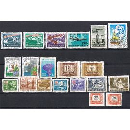 Timbres HONGRIE 1958/ 1964/ 1965/ 1966/ 1969/ 1973/ 1974/ 1977/ 1983/ 1987