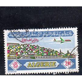 Timbre de poste aérienne d'Algérie (Casbah d'Alger)