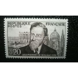 TIMBRE FRANCE (YT 1242 ) 1960 Pierre de Nolhac (1859-1936)