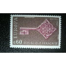 TIMBRE FRANCE (YT 1557 ) 1968 C.E.P.T.- Clés