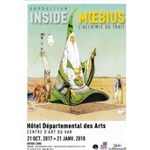 Flyer Moebius Exposition Inside Moebius Toulon 2017