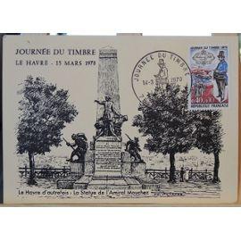 """Carte 1er jour """"Journée du timbre"""" 1970"""