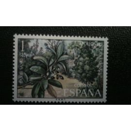 TIMBRE ESPAGNE ( YT 1774 ) 1973 Apollonias Canariensis