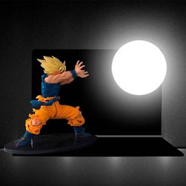 Z Dechirée Lampe Dragon Figurine Sangoku Super Ball Saiyan Tenue 8wPNn0OkX
