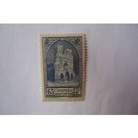 n°399 Restauration de la Cathédrale de Reims N** petit prix