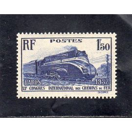 Timbre neuf* de France n° 340 ref FR6948