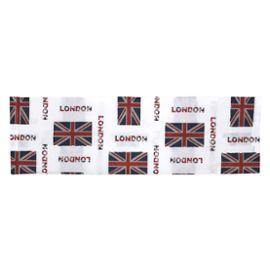 Taie doreiller 65x65 cm 100/% Coton Jack London City