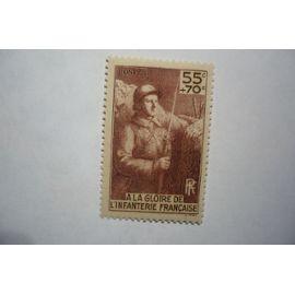 n°386 pour le monument à la gloire de l'infanterie Neuf** petit prix