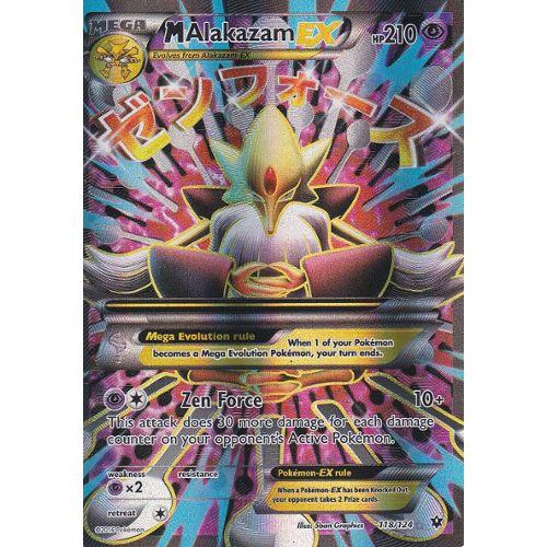Carte Pokemon Malakazam Ex Mega Alakazam Ex 118 124 Ultra Rare En Full Art Xy10 Impact Des Destins Version Anglaise Rakuten
