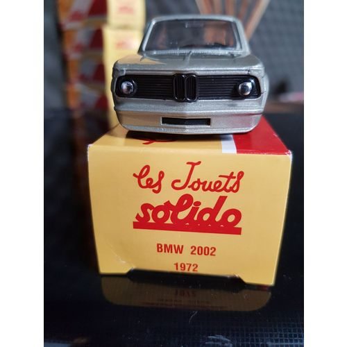 SOL28N Voiture 1//43 solido BMW 2002 Turbo grise Made in France