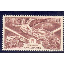 Timbre de poste aérienne de Guadeloupe (Anniversaire de la victoire)