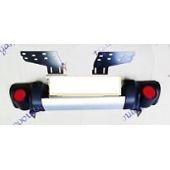 Support Renfort Pare choc avant Mitsubishi L200 2006 à 2010 simple cabine NEUF