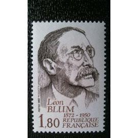 TIMBRE FRANCE ( YT 2251 ) 1982 Léon Blum (1872-1950)