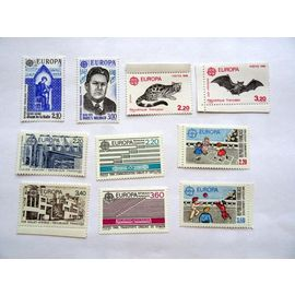 TIMBRES NEUFS - EUROPA - 1985 A 1989 - YT 2366 A 2585