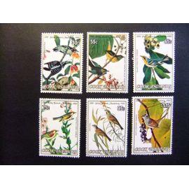 COOK ISLANDS 1985 Oiseaux Pajaros -Ornitologo J.J. AUDUBON Yvert 815 / 820 ** MNH SG 1015 / 20