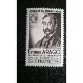 TIMBRE FRANCE ( YT 794 ) 1948 Etienne Arago a adopté le timbre-poste en 1848