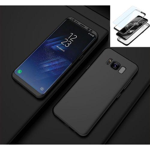 Coque Samsung Galaxy S8Noir 1 Supreme Coque Bumper Housse Etui pour Samsung Galaxy S8