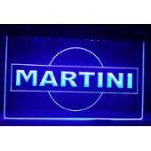 Panneau Pub Martini Led Enseigne Bar Cafe Lumineuse Neon Lampe