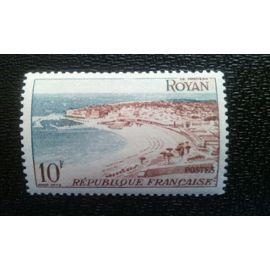 TIMBRE FRANCE ( YT 978 ) 1954 Royan