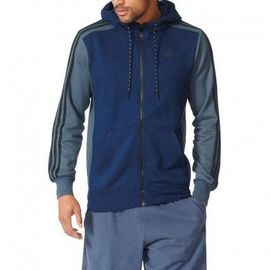 adidas veste zippée à capuche essential homme