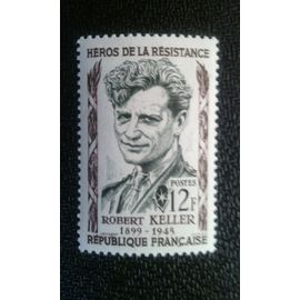 TIMBRE FRANCE ( YT 1102 ) 1957 Keller Robert (1899-1945)