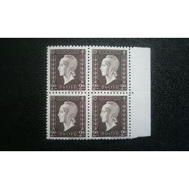 TIMBRE FRANCE ( YT 692 ) 1945 Marianne type Dulac