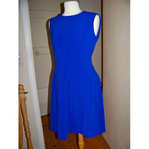 H M Robe Bleu Electrique T 40 Mode Femme Rakuten
