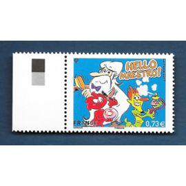 """FRANCE année 2017 timbre n° 5171 NEUF** """"hello maestro"""" héros il était une fois l'homme"""""""