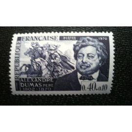 TIMBRE FRANCE ( YT 1628 ) 1970 Alexandre Dumas père (1802-1870)