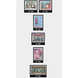 1979 Monaco 6 timbres sur l'opera