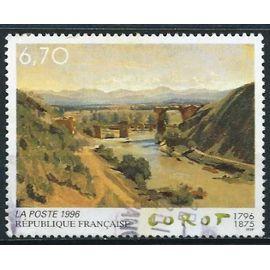 France 1996 - Bel Exemplaire Yv. 2989 - Centenaire De La Naissance De Corot : Le Pont D'auguste De Narni, Oblitéré, Tbe