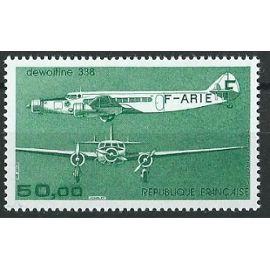 Trimoteur Dewoitine 1987 poste aérienne 1987 n° 60