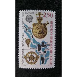 TIMBRE FRANCE ( YT 2755 ) 1992 C.E.P.T.- 500ème anniversaire de la découverte de l'Amérique