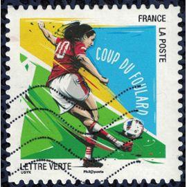 France 2016 Oblitéré Used Football Vos gestes préférés Coup du Foulard