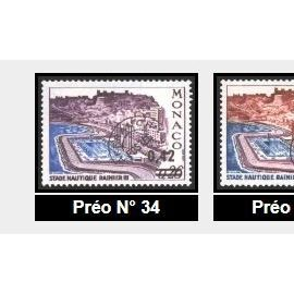 1963 Monaco preaffranchis et surcharges