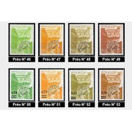 1943-1978 Monaco timbres preoblitérés