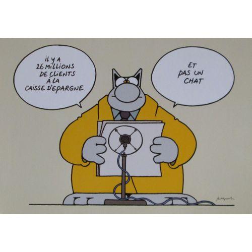 Carte Postale Le Chat Geluck Carte Postale Rakuten