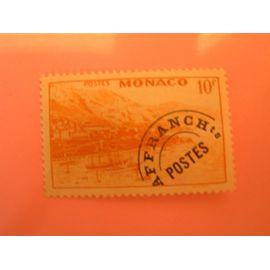 timbre préoblitéré Monaco n°5 neuf trace de charnière